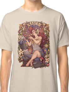Gamer girl Nouveau Classic T-Shirt