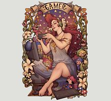 Gamer girl Nouveau Womens Fitted T-Shirt