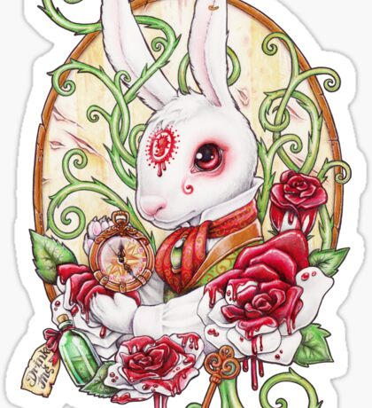 Rabbit Hole Sticker