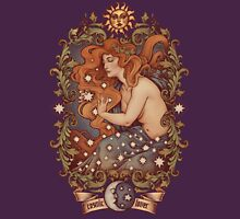 COSMIC LOVER - Color version Womens Fitted T-Shirt