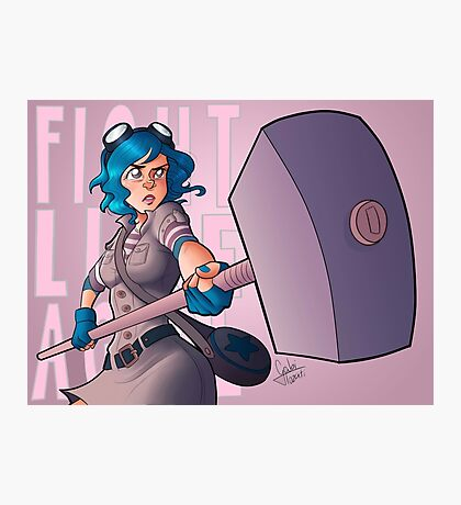 Ramona Flowers #FightLikeAGirl Photographic Print