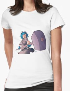 Ramona Flowers #FightLikeAGirl Womens Fitted T-Shirt