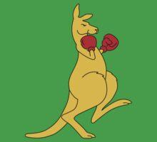 Boxing Kangaroo by Cotza