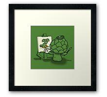 Artychoke Framed Print