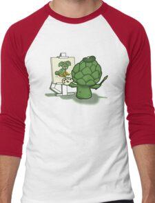 Artychoke Men's Baseball ¾ T-Shirt