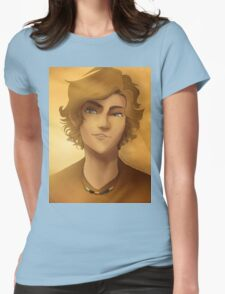 Will Solace Portrait Womens Fitted T-Shirt