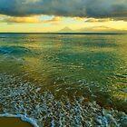 Sundown - Lagonay Gulf by Wayne Holman