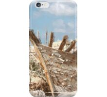 Watercolour - A Wreck at Masarla iPhone Case/Skin