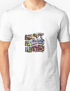 HAPPY MONDAYS PILLS 'N' THRILLS AND BELLYACHES Unisex T-Shirt