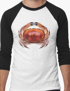 Spiral Crab Men's Baseball ¾ T-Shirt