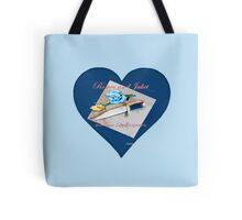 Romeo and Juliet Heart Tote Bag