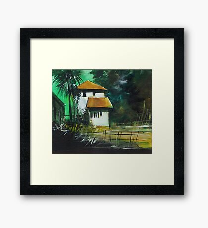 White House Framed Print