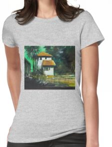 White House Womens Fitted T-Shirt