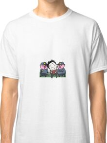Caught by the pigs! Classic T-Shirt