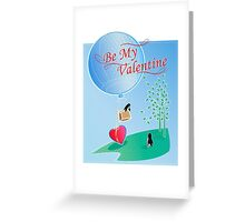 Penguin Valentine Greeting Card