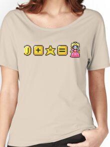 Money Power Peaches  Women's Relaxed Fit T-Shirt