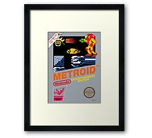 Metroid NES Framed Print