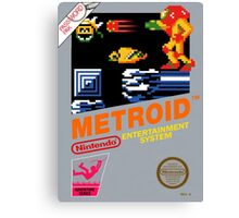 Metroid NES Canvas Print