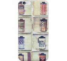 Film Collage #2 iPhone Case/Skin