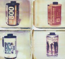 Film Collage #2 Sticker