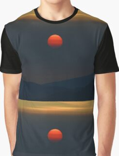 A fire in the sky Graphic T-Shirt