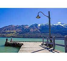 Glenorchy Pier Photographic Print