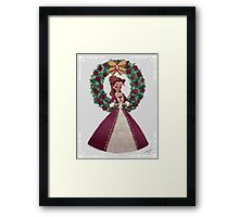 As long as there's christmas Framed Print