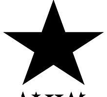 David Bowie tribute - Blackstar by Firewallmud
