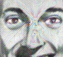 J. R. Bob Dobbs [Google Deep Dream] Sticker