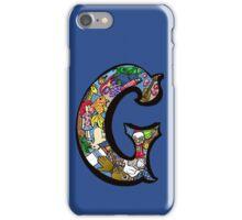 Doodle Letter G iPhone Case/Skin