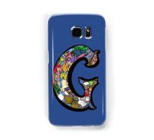 Doodle Letter G Samsung Galaxy Case/Skin