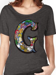 Doodle Letter G Women's Relaxed Fit T-Shirt
