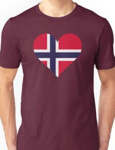 A heart for Norway Unisex T-Shirt