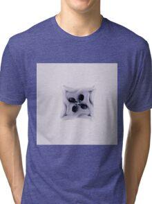 Flower Sculpture Singlular Tri-blend T-Shirt