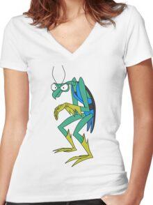 Zorak Women's Fitted V-Neck T-Shirt