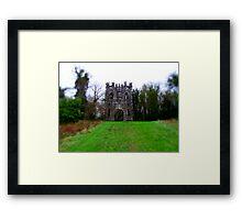 Gothic Arch Framed Print