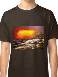 Wave Of The Sun - Acrylic Art By DCP Classic T-Shirt