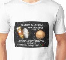 Achievement Unlocked: Pluto! Unisex T-Shirt