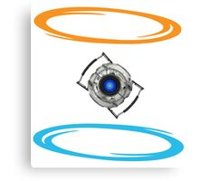 Portal Wheatley Canvas Print