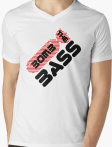 Bomb The Bass Music Quote Mens V-Neck T-Shirt