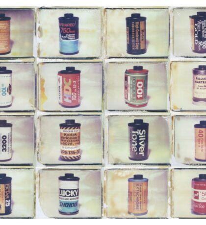 Film Collage #4 Sticker