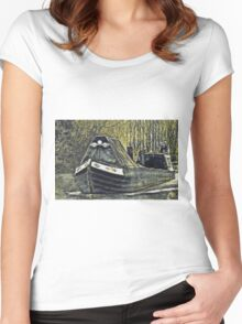 Narrow Boat Women's Fitted Scoop T-Shirt