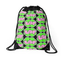 Lucky Gum Fursuits Logo (TILED) Drawstring Bag