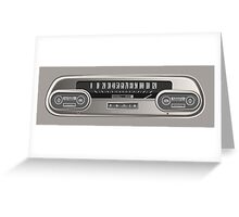 Cadillac Speedometer Greeting Card