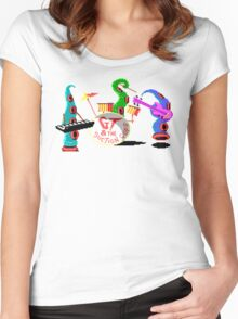 Maniac Mansion Pixel Style- Retro DOS game fan items Women's Fitted Scoop T-Shirt