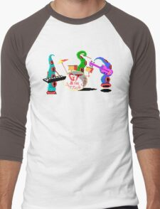 Maniac Mansion Pixel Style- Retro DOS game fan items Men's Baseball ¾ T-Shirt