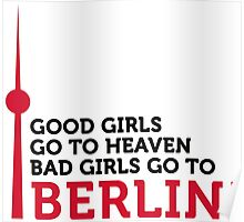 Bad girls go to Berlin! Poster