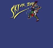 Oldies Ski or Die - Retro Pixel DOS game fan shirt Unisex T-Shirt
