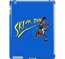 Oldies Ski or Die - Retro Pixel DOS game fan shirt iPad Case/Skin