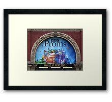 BBC Proms at The Royal Albert Hall Framed Print